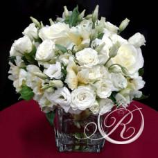 Букет белых роз #1