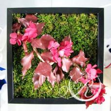 Картина из цветов #2