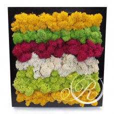 Картина из цветов #3