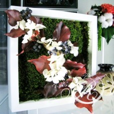 Картина из цветов #5