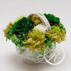 Букет Зеленое спокойствие